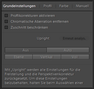 Lightroom Schieberegler Teil 2